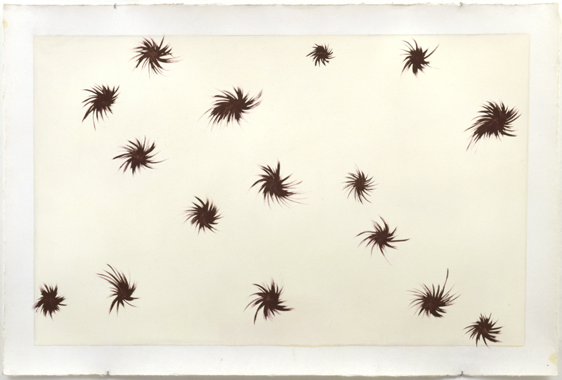 Untitled, 2003, Oil on paper, 84 x 125 cm, Photo: Achim Kukulies