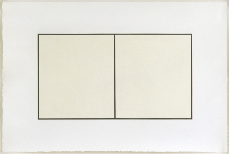 Untitled, 1997/98, Oil on paper, 84 x 125 cm